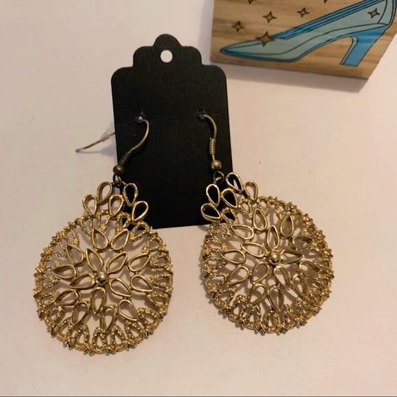Vintage Boho Minimalist Drop Earrings